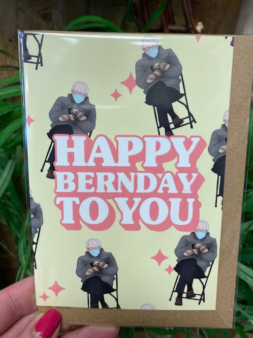 Native 21 Bernday Card