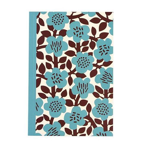 Blue Flower A5 Notebook