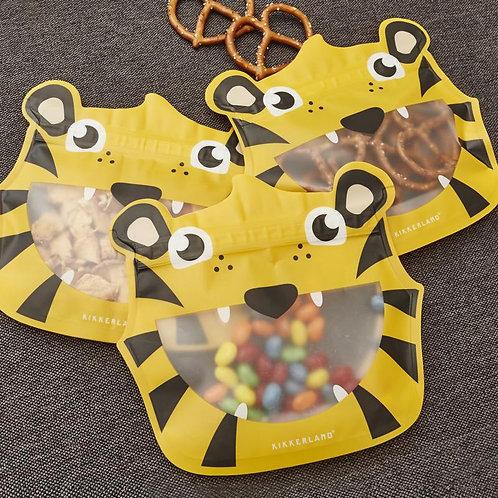 Tiger Zip Bags