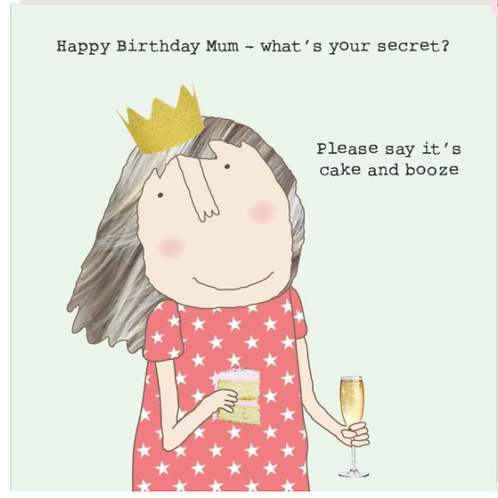 Mum Secret Card