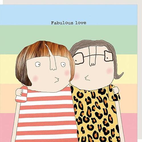 Fab Girl Love Card