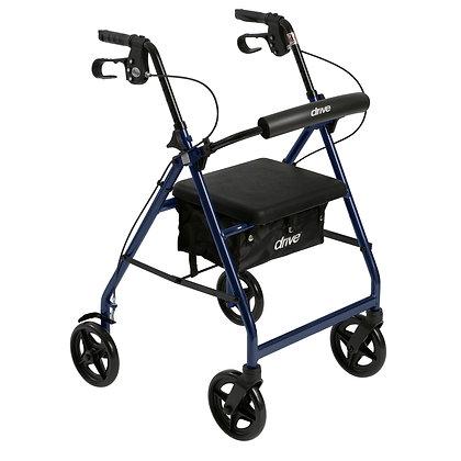 Aluminum Rollator - Blue