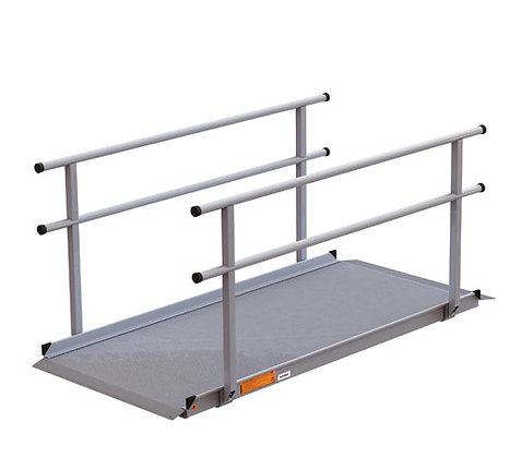 EZ-ACCESS GATEWAY 4-FT RAMP W/HANDRAILS