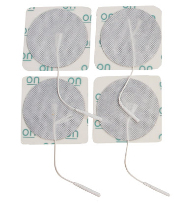 Round Pre Gelled Electrodes for TENS Unit, 2""