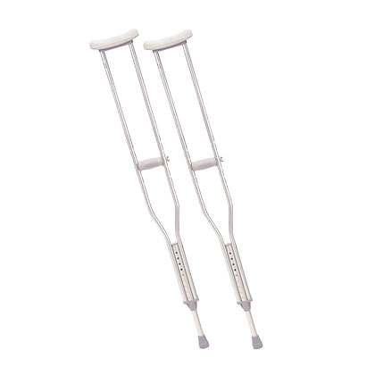 Walking Crutches with Underarm Pad, Tall Adult