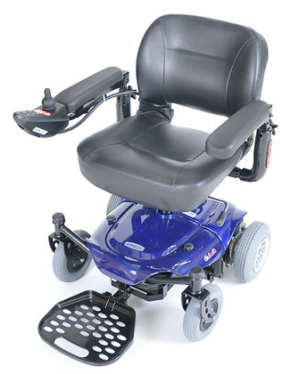 Cobalt X23 Power Wheelchair, Blue or Red