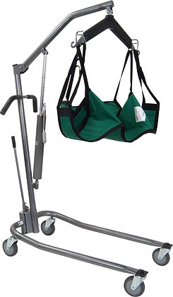 Hydraulic, Deluxe Silver Vein Patient Lift