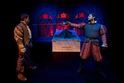 Enfrentamiento Romeo y Tebaldo