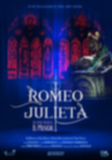 cartel 100x70 ROMEO Y JULIETA EL MUSICAL