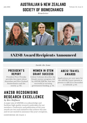 Award Winners Announced, ABC12 Travel Award, Next ANZSB Webinar + More - July Newsletter Out Now