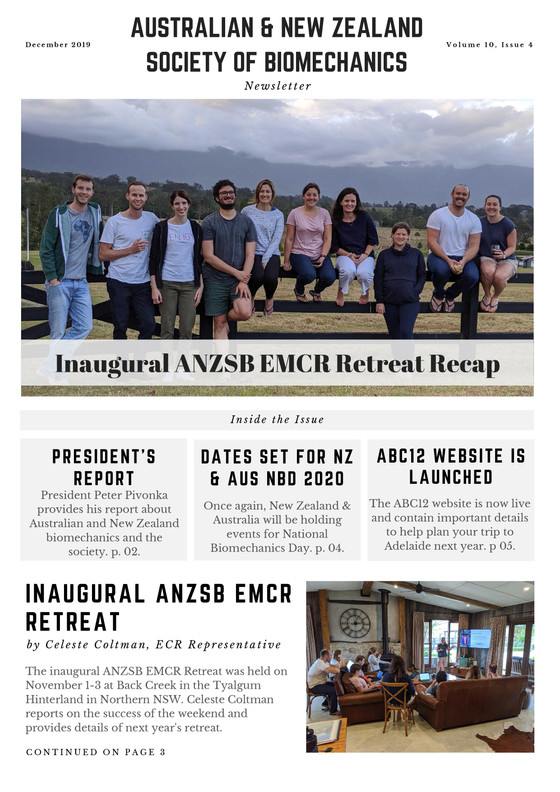 EMCR Retreat Recap, ABC12 Website, NZ & AUS NBD 2020, Grant Outcomes + More: December Newsletter