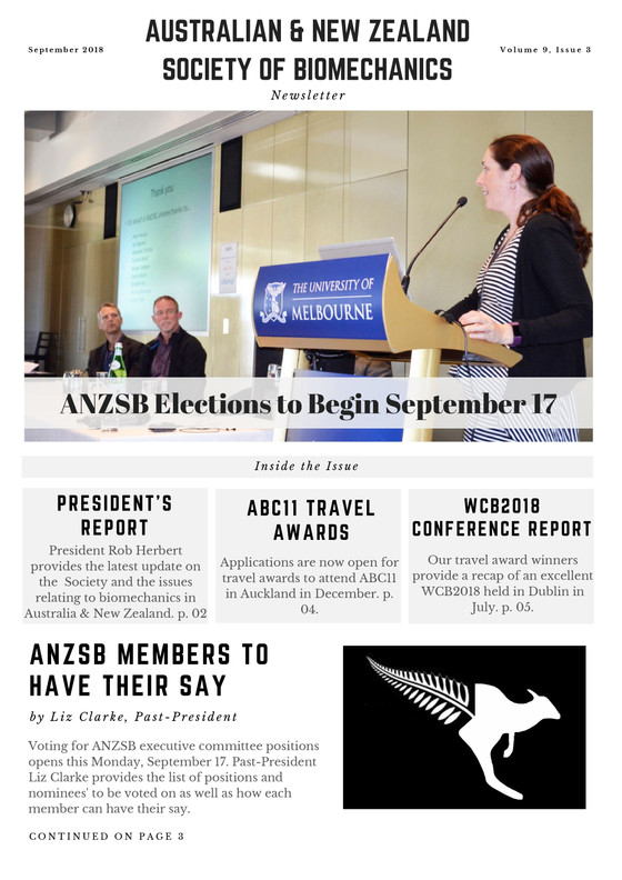 ABC11 Travel Awards + ANZSB Voting Details: September Newsletter Out Now