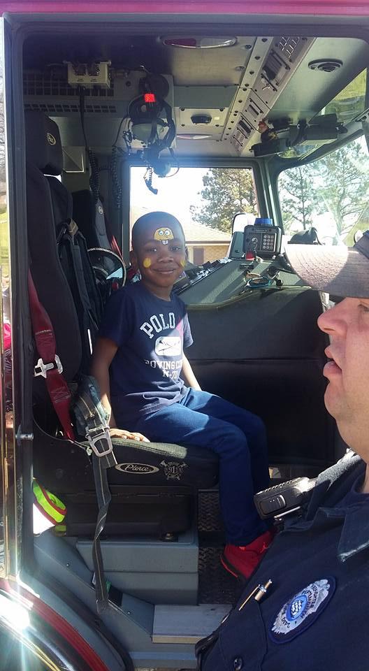 easter fire truck
