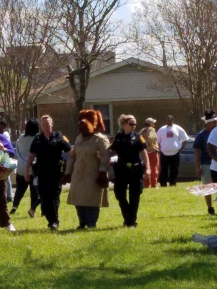 Easter McGruff
