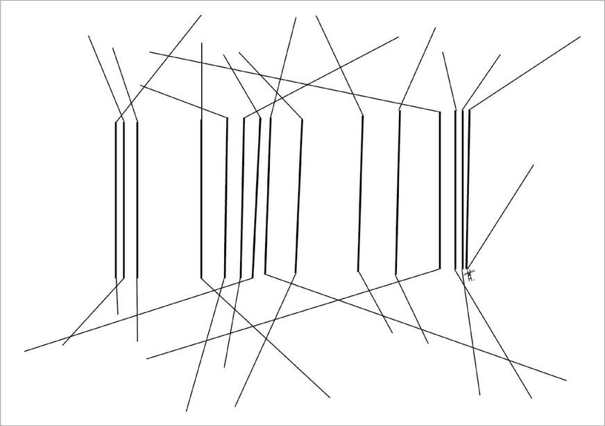 Arbres, 2018, encre sur papier, 50 x 70cm, Bruxelles. Tirages en formats B2, A2 et A3, impression laser sur papier 200g