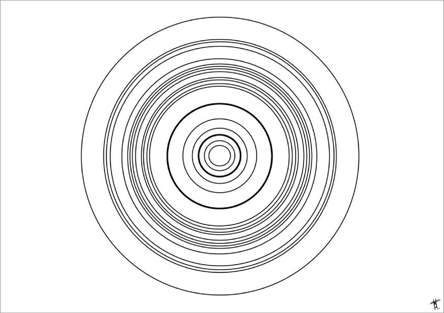 Iquitos, 2014, encre sur papier, 50 x 70cm, Pérou. Tirages en formats B2, A2 et A3, impression laser sur papier 200g