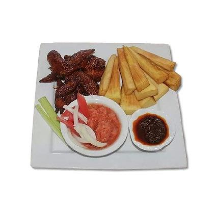 Fried Yams & Fish