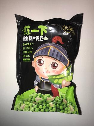 Garlic Slices Green Peas 黄金蒜片青豆