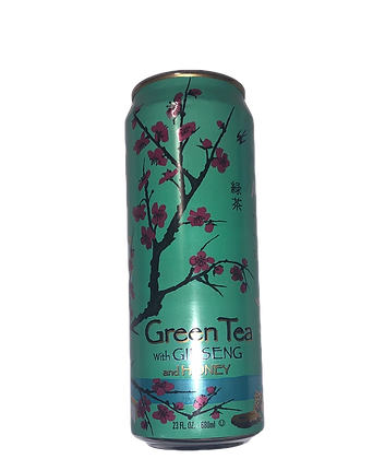 Arizona Green Tea with Ginseng and Honey 亚利桑那冰茶(蜂蜜绿茶味)