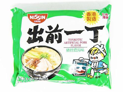 NISSIN Tonkotsu Artificial Pork Flavor Ramen