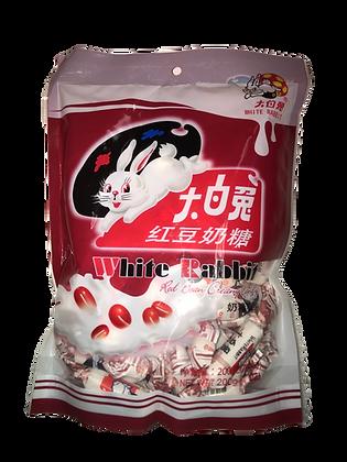 White Rabbit Red Bean Creamy Candy 大白兔红豆奶糖