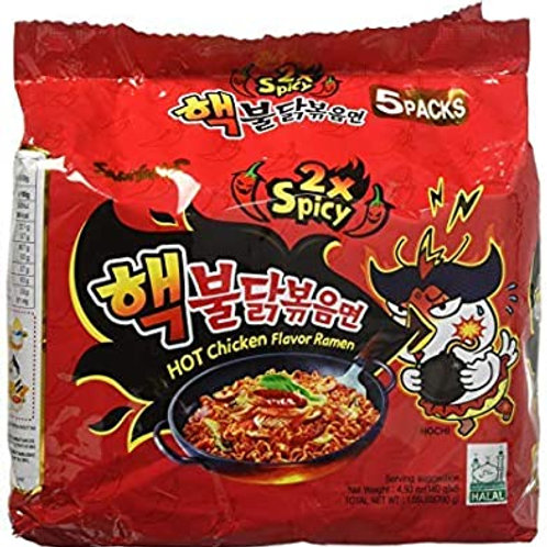 SAMYANG Hot Chicken Flavor, 2x Spicy Ramen