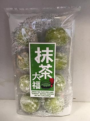 Green Tea FLVD Rice Cake