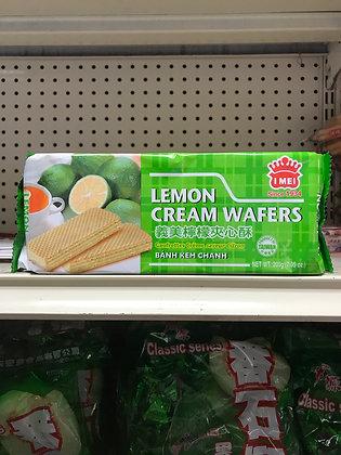 Lemon Cream Wafers