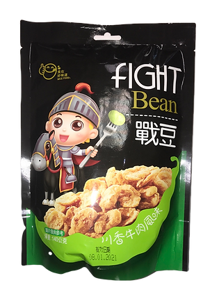 Beef Flavored Fight Bean 川香牛肉风味战豆