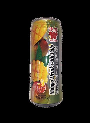 Weichuan Mango Drink with Pulp 味全芒果颗粒饮料