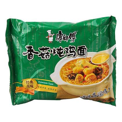 Mushroom & Chicken Ramen香菇炖鸡面