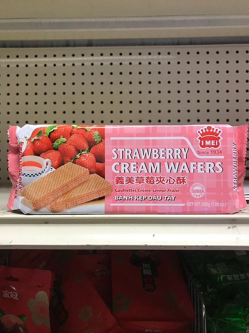 Strawberry Creme Wafers