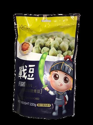 Fight Bean, Salted Egg Yolk flavored Green Peas 咸蛋黄风味脆青豆