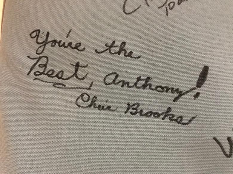 Signature - Chris Brooks
