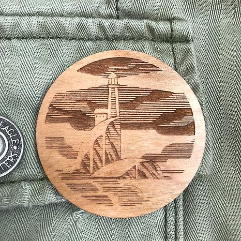 Wooden Pin: Light house
