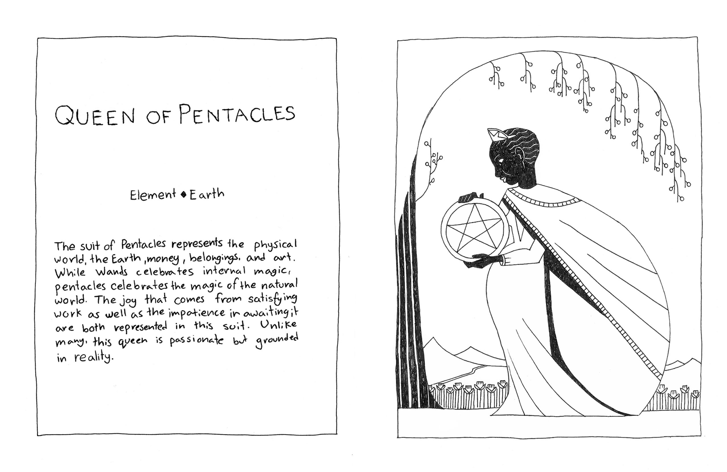 TarotBookPentacles