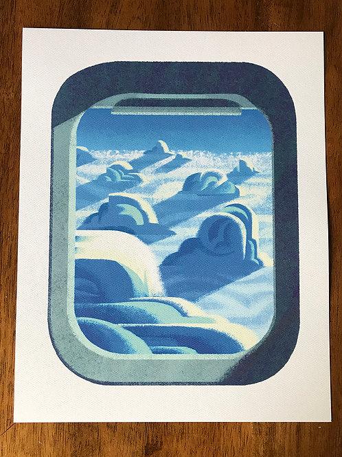 Window Seat Print