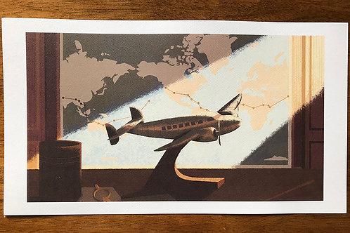 Model Plane Print