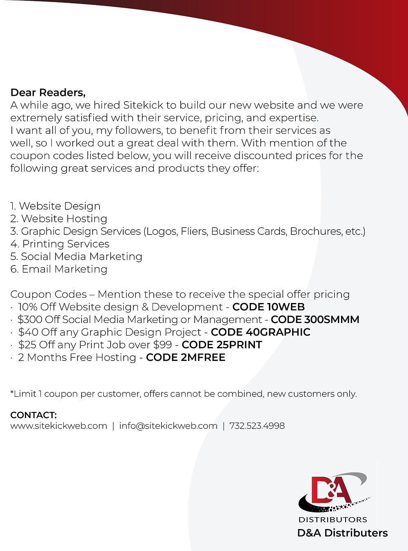 Website Design & Development from sitekickweb.com