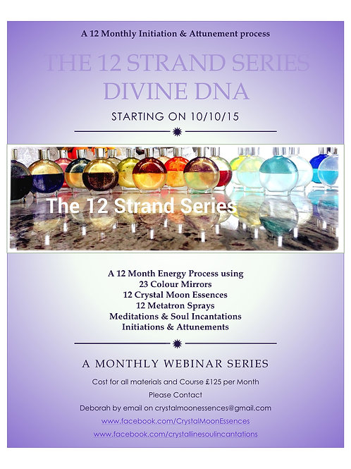 TEMTTA Course: The 12 Strand DNA Series