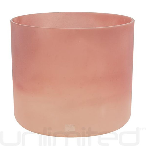 Pink Himalayan Salt Alchemy Crystal Tones Singing Bowl