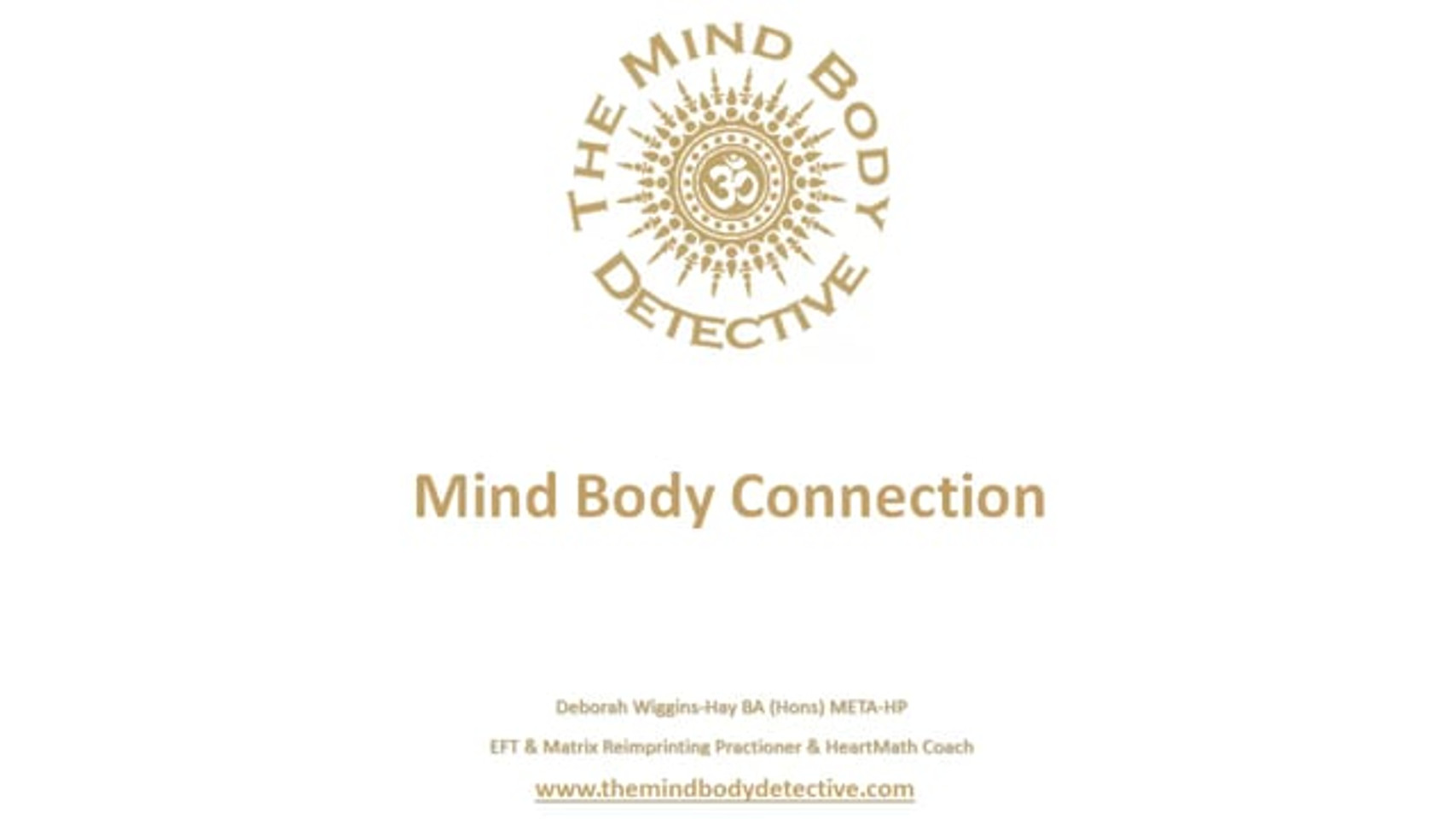 Understanding the Mind Body Connection