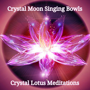 Crystal Lotus Meditation design instagra