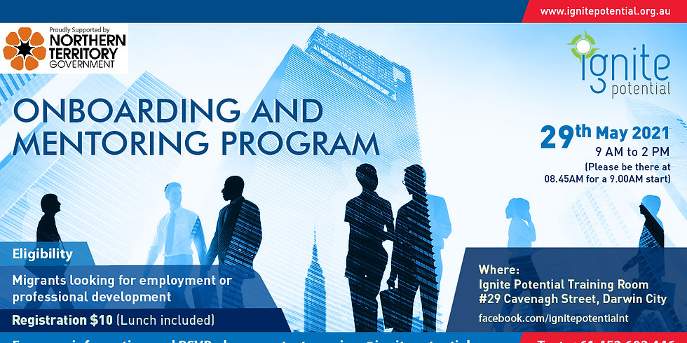 Onboarding and Mentoring Program
