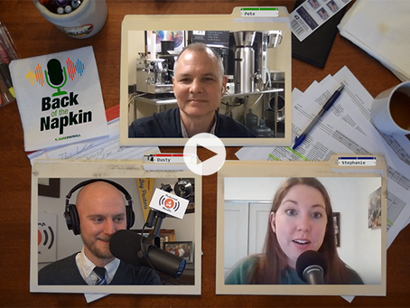 "Podcamp Media Launching Latest Podcast Venture, ""Back of the Napkin"""
