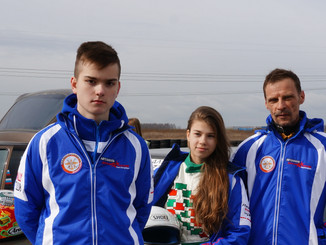 "Гонка ""Мини-Ралли"" на автодроме в Санкт-Петербурге"