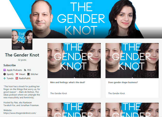 BMIEY Featured on The Gender Knot Podcast