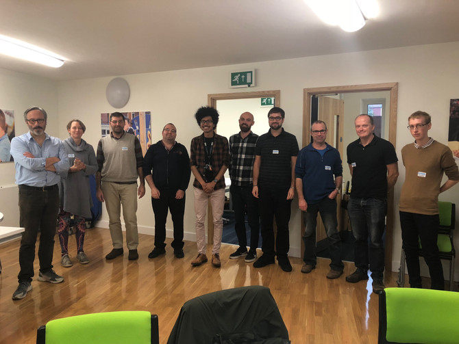 Quarterly Network Meeting, Guest Speaker: Michael Conroy, A Call To Men UK - October 2017