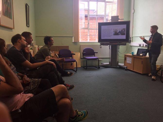 Quarterly Network Meeting, Guest Speaker: Dr Finn Mackay