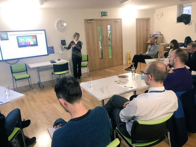 Quarterly Network Meeting, Guest Speaker: Prof. Gina Rippon, Aston University - January 2018
